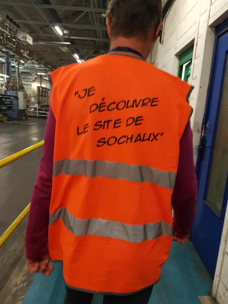 je découvre le site PSA de Sochaux